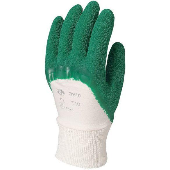 KREPP LATEX erősített zöld kesztyű