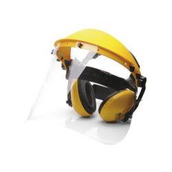 PW90 - Arc és hallásvédő szett - sárga